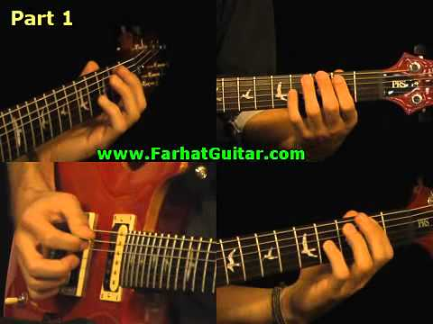 Satisfaction - Rolling Stone Guitar Cover Part 1 www.Farhatguitar.com