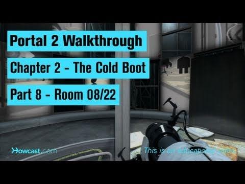 Portal 2 Walkthrough / Chapter 2 - Part 8: Room 08/22