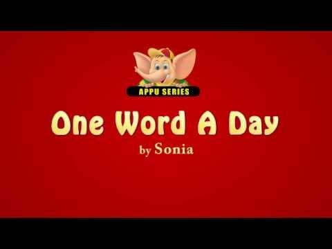 One Word A Day - Modus Operandi (HD)