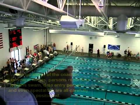Swimming is a Spatial Sport