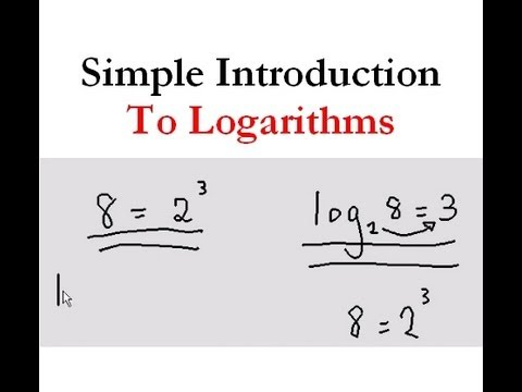 Simple introduction to Logarithms