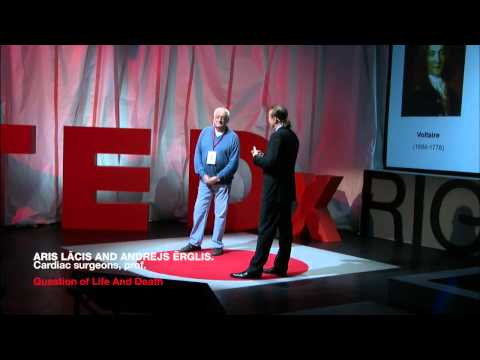 The Medicine for Tomorrow: Memories of the Future: Aris Lācis and Andrejs Ērglis at TEDxRiga