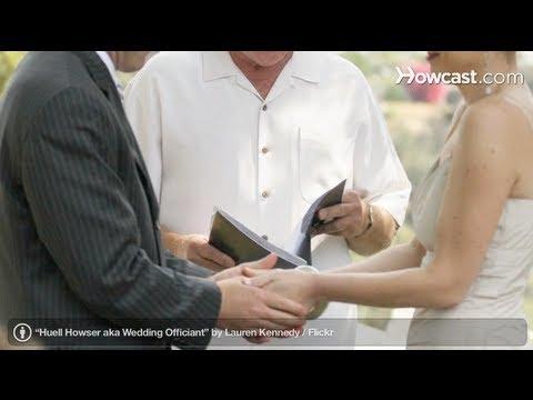 Wedding Planning: Choosing an Officiant