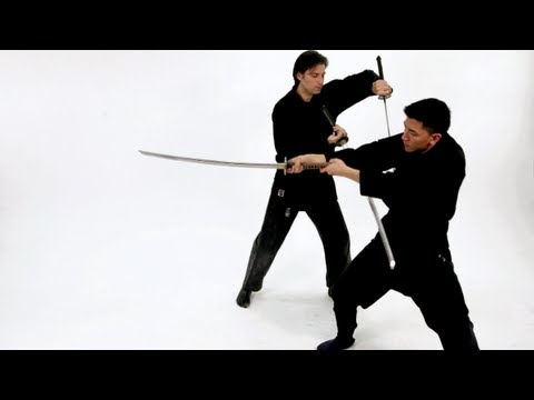 Two Sword Technique | Katana Sword Fighting