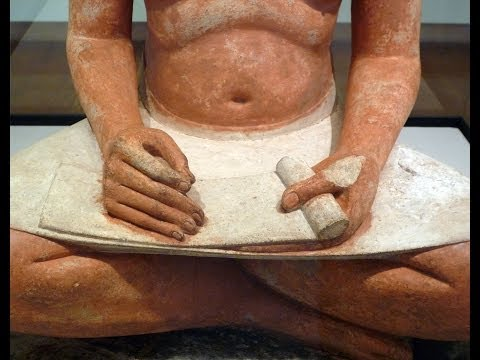 The Seated Scribe​, c. 2620-2500 B.C.E.