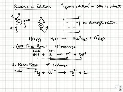 Solution Stoichiometry - Common reactions in solutions | College & AP Chemistry Tutorial 11