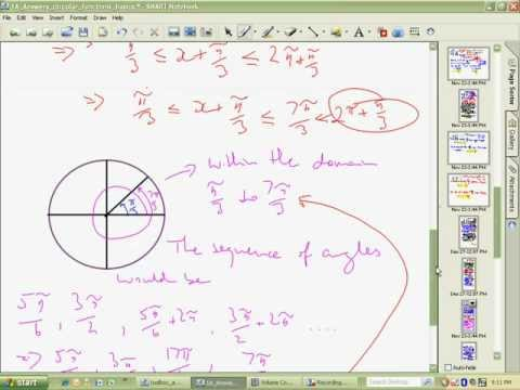 Solving Trigonometry Equations Help Part 3 of 4