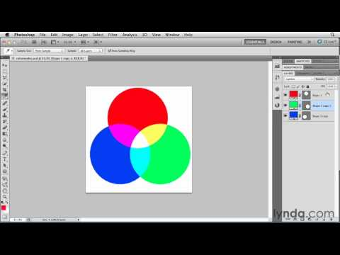 Photoshop: The additive and subtractive color models | lynda.com overview