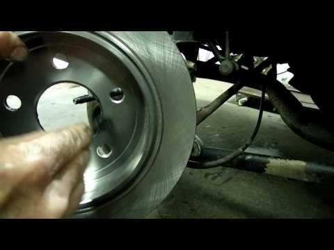 Rear Brake Pad & Rotor Replacement