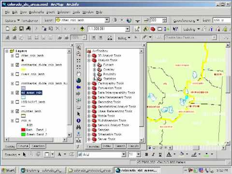 Siting a Ski Area in Colorado: Lesson Using Spatial Analysis and GIS: Chapter 5