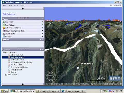 Siting a Ski Area in Colorado: Lesson Using Spatial Analysis and GIS: Chapter 11