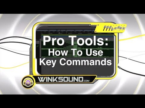 Pro Tools: How To Use Key Commands