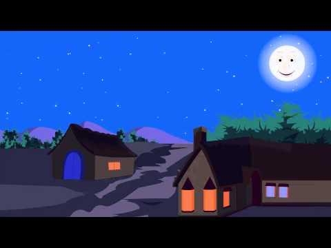 The Man in the Moon - Nursery Rhyme (HD)