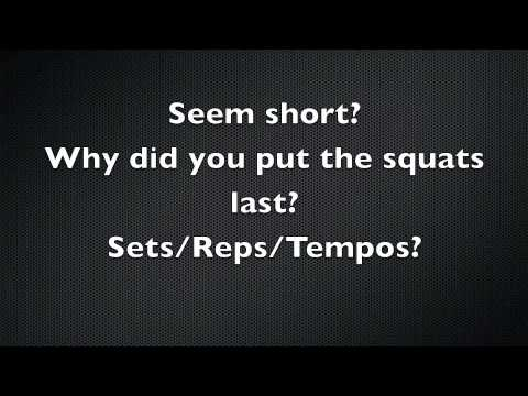 NBA Leg Workout: Basketball Leg Workout