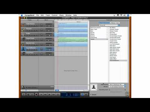 What's New in GarageBand 08 - Feedback Protection Option