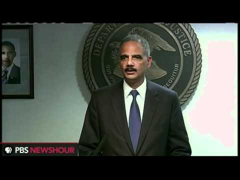 Watch Atty. Gen. Eric Holder's Full Response to Contempt Vote