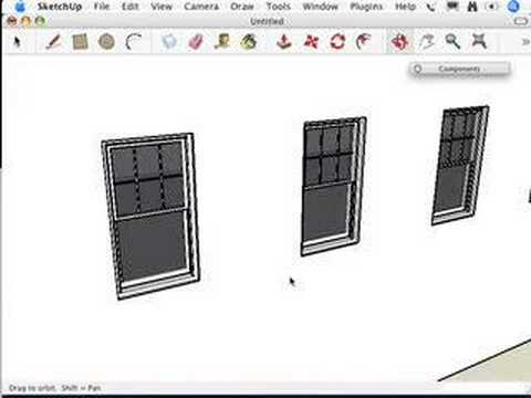 SketchUp: Select and replace all your troubles away