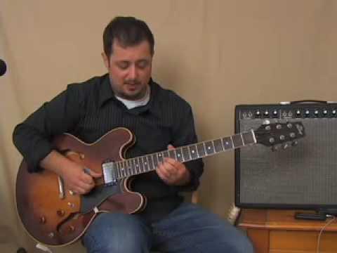 Triad Chord Lesson - D Chord Shape