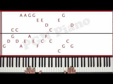♫ ORIGINAL - How To Play Whistle Flo Rida Piano Tutorial Lesson - PGN Piano
