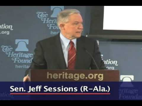 Sen. Jeff Sessions on Necessity of Lawful Immigration