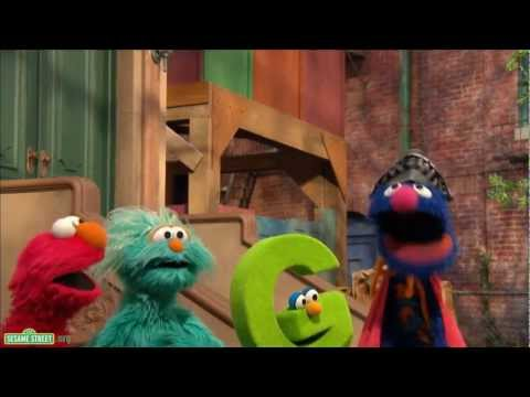 "Sesame Street: Song - Super Grover with a ""G"""