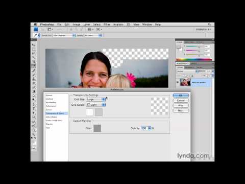 Photoshop: Performance preferences: Transparency and Gamut   lynda.com