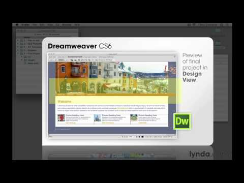 Web design tutorial: What to expect with the Design View in Dreamweaver | lynda.com