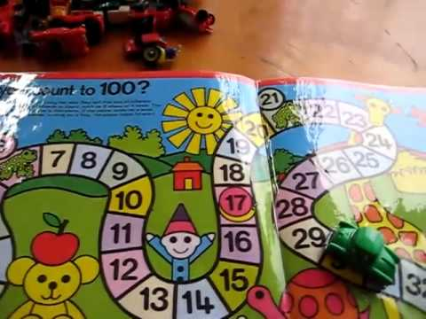 Preschool - Math. number road