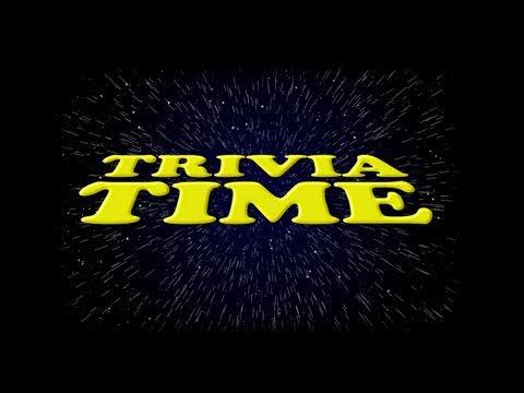 Trivia Time: #01