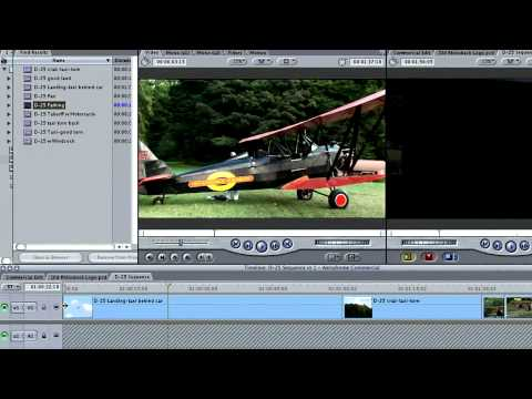 Total Training for Final Cut Pro 5: The Essentials Ch2 L6  Very Basic Editing