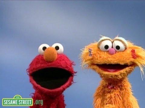 Sesame Street: Elmo and Zoe's Opposites