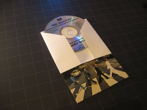Origami: Sleeve for CD / DVD and liner notes