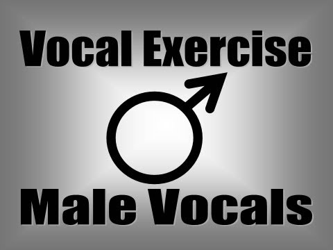 Voice Lesson - Pentatonic Vocal Exercise For Male Vocals (AEIOU)