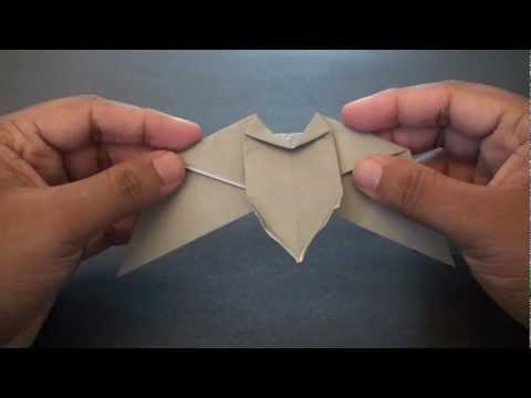Origami Daily - 415: Halloween Bat - TCGames [HD]