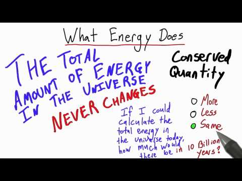 What Energy Does 2 Solution - Intro to Physics - Work and Energy - Udacity