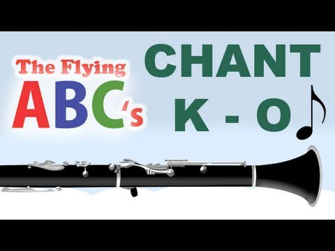 The Flying ABC's Alphabet Chant K to O
