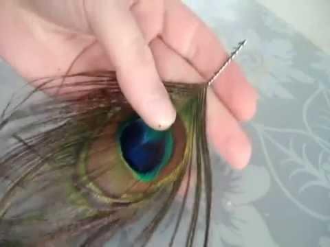 Peacock Earrings - Tutorial