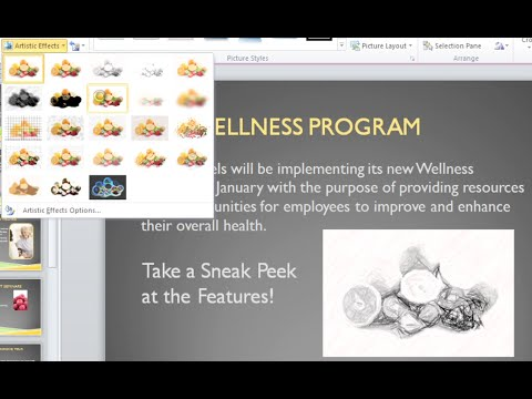 PowerPoint 2010: Format Pictures