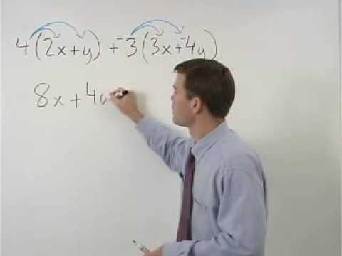 Simplifying Expressions - YourTeacher.com - Algebra Help