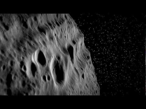 NASA Dawn's Virtual Flight Over Asteroid Vesta