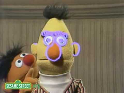 Sesame Street: Drawing Bert's Face