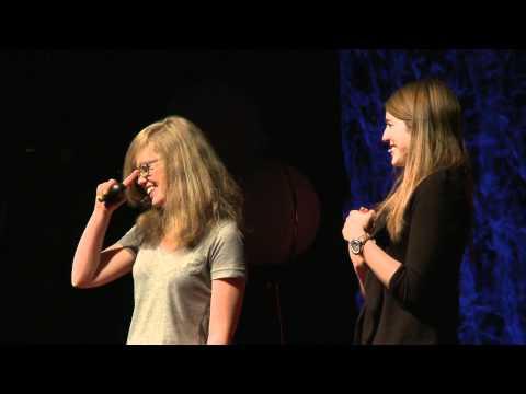 TEDxBOULDER - Glorianna and Mercina Tillemann-Dick - Making 'Good Enough' Better