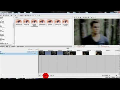 Sony Vegas Tutorial || Effect #88