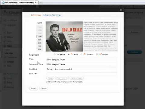 WordPress Blogging Tutorial - Embedding Video in a Blog