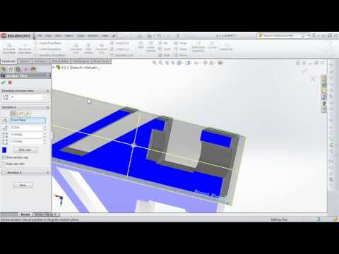 SolidWorks 2012: Extruded Cut command | lynda.com tutorial