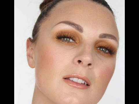 SUNSET ORANGE MAKE-UP TUTORIAL Inspired by Tom Ford Visual
