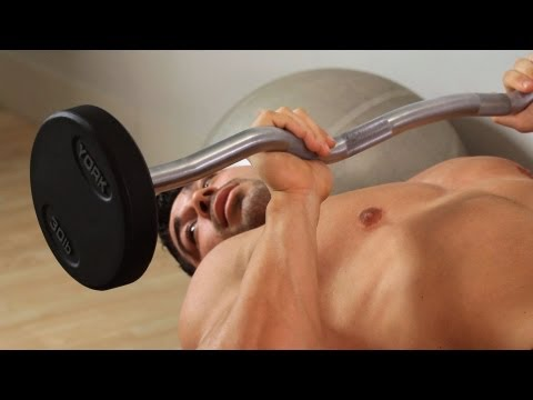 Skull Crusher | Home Arm Workout for Men