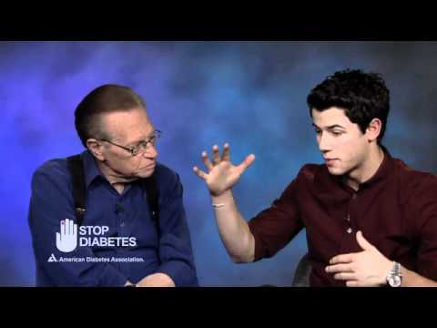 Nick Jonas & Larry King: Living with Diabetes