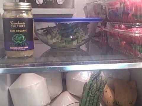 What's In & Out of my Raw Foods Fridge