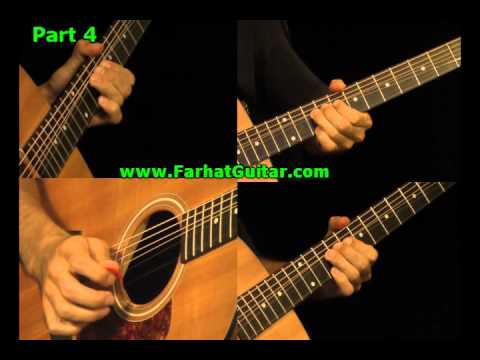 Wish you were here - Pink Floyd - Guitar Part 4 www.FarhatGuitar.com